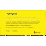 시디프로젝트레드, 사이버펑크 2077 레드플레이 출시 9월로 연기 레드플레이