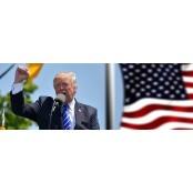 미 도널드 트럼프 대통령, 코로나19 테스트 음성 도널드트럼프