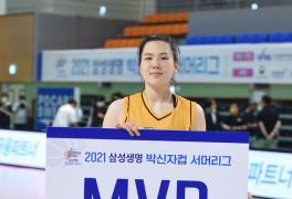 """'MVP' 김소담 """"후배 몫"""