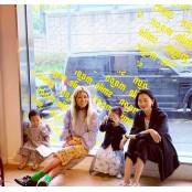 """장윤주, 요니P와 함께 행복한 주말 릴사랑 """"예쁜 아이들""""[★SHOT!]"""