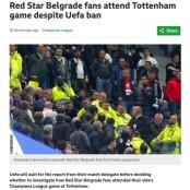 UEFA, 토트넘 경기장 들어온