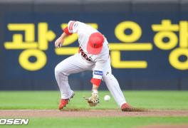 [사진]김선빈,'아이쿠