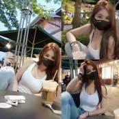 강예빈, 민소매 티셔츠만 글래머 입어도 섹시..글래머 인증 글래머