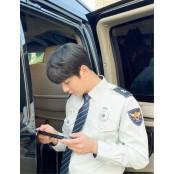 윤시윤, 이렇게 훈훈한 경찰제복 경찰 봤어? 시선강탈 경찰제복 우월한 제복핏