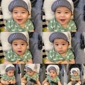 강경준♥장신영 아들 정우, 러블리 눈웃음..어쩜 이쁜 이리 이쁜 점만 닮았을까