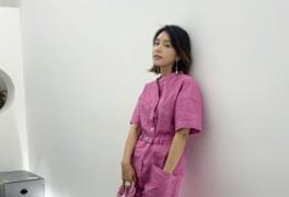 채정안, 핑크색 점프슈