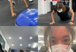 "'54kg' 김빈우, 바디 화보 찍고도 여전히 운동 지옥 ""재밌고 신났음"""