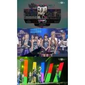 2NE1, 대세 크레용팝 생방송블랙잭 꺾고