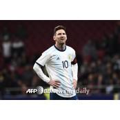 아르헨티나, 메시 포함 코파 아메리카 코파아메리카파라과이 최종엔트리 발표