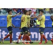 콜롬비아, 파라과이 꺾고 3전전승 코파 코파아메리카파라과이 아메리카 8강행