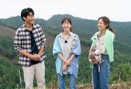 [MD포토] 공효진 이천희 전혜진 '자연 속 청정 미소'