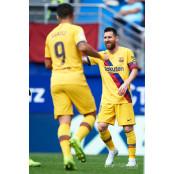 '삼각편대 득점 가동' SD에이바르 바르셀로나, 에이바르 3-0 SD에이바르 꺾고 4연승