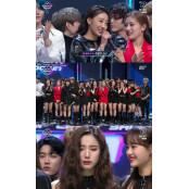 """'엠카' 첫 1위 이달의 소녀 """"오빗 여러분 하슬 감사, 하슬이 덕분에 상 받아"""""""