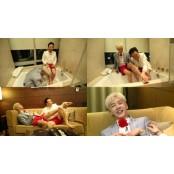 [TV@픽] 발깍지는 사랑…박명수♥이기광, 커플 세족식