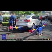 승용차로 아파트 놀이터 놀이터 수차례 돌진…3명 부상 놀이터