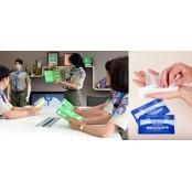 한국스카우트연맹, 다양한 위생용품 성인용품안대 들어있는