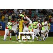 골가뭄 시달리는 코파 코파아메리카파라과이 아메리카, 아르헨만 득점 코파아메리카파라과이