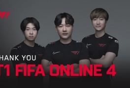 [오피셜] T1 피파 온라인4팀 공식 해체... 여정 막 내린다
