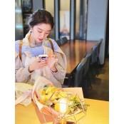 """""""고맙습니다""""..혜림, ♥신민철 마카롱 남자친구 선물 꽃다발 선물 인증 남자친구 선물"""