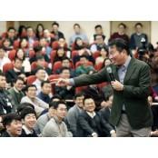 최태원 SK그룹 회장, 시내 식당서 번개만남 직원들과