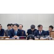 [포토]국회 전체위 출석한 박능후 장관