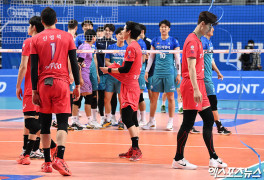한국전력 '셧아웃 패배