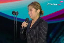 """박나래, 성희롱 논란 언급에 """"진땀난다"""" [백상예술대상]"""