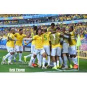 [코파 아메리카] 브라질 C조 1위 8강행, 페루·콜롬비아도 코파아메리카순위 8강