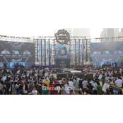 해운대 백사장에 3,000명 2015황금성 운집, '블소 소울 2015황금성 파티' 개막