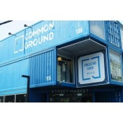 코오롱, 컨테이너로 만든 쇼핑몰 '커먼그라운드' 선보여