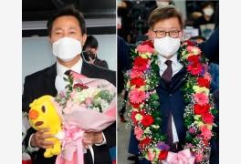 오세훈 57.5%, 박형준 62.7% '압승'…野, 서울·부산 41개구 모두 승리