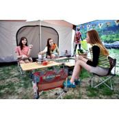[OUTDOOR&TREND] 언니들의 캠핑에 필요한 건…맛 보다 멋! 트리믹스사용법