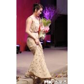 [mk포토] 얼짱양궁 기보배 얼짱토토 `긴 드레스가 너무해` 얼짱토토