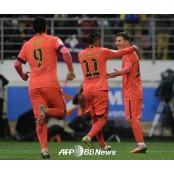 '메시 2골' 바르셀로나, SD에이바르 에이바르에 2-0 완승 SD에이바르