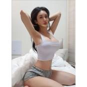 '로드걸' 김이슬, F컵 f컵 드러낸 침대 위 f컵 셀카 '비현실 몸매' f컵 [똑똑SNS]