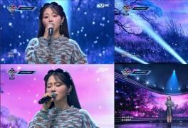 '엠카운트다운' HYNN(박혜원), '그대 없이 그대와' 무대 최초 공개