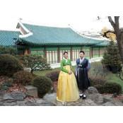 """""""우리 결혼했어요""""...수현♥차민근, 한복입은 신혼부부"""