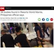 필리핀 마닐라 호텔 총격, 시신 36구 발견… 마닐라카지노 추천 한국인 1명 사망