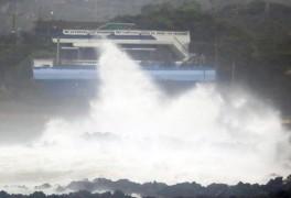 태풍 '찬투' 제주도 근접… 천둥·번개 동반 강한 비 주의