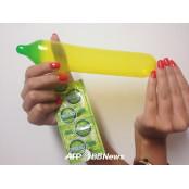 월드컵 전용 콘돔, 브라질 대표팀 컬러콘돔 컬러로 매치