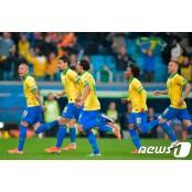 브라질, 승부차기 끝에 파라과이 꺾고 코파아메리카일정 코파 아메리카 4강 진출