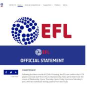 재개 앞둔 잉글랜드 프로축구 일정 축구, 2부리그서 코로나 프로축구 일정 확진자 2명 발생 프로축구 일정