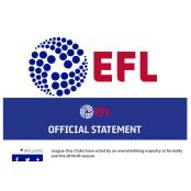 EPL과는 다른 결정…잉글랜드 프리미어리그순위 3·4부리그는 시즌 종료한다 프리미어리그순위