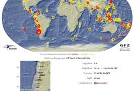 남미 칠레 중부 해안서 규모 6.1 지진