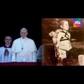 강한 말보다 더 트럼프카드 뒷면 큰 울림…교황