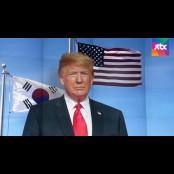 """트럼프 """"북, 경제대국 트럼프카드 디자인 될 기회…주한미군 철수 트럼프카드 디자인 없다"""""""