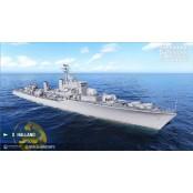 [월드오브워쉽] 새로운 메타가 등장할까? 초고속 어뢰를 탑재한 야마토확율 범유럽 구축함 예고