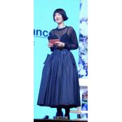 [SS포토] 홍진경, 속옷 비치는 시스루 패션