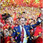 광저우 헝다, 중국 광저우헝다 슈퍼리그 8번째 우승…박지수는 광저우헝다 데뷔골