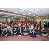 최태원 SK 회장, 번개미팅 직원들과 중구서 두 번개미팅 차례